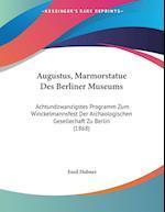 Augustus, Marmorstatue Des Berliner Museums af Emil Hubner