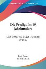 Die Predigt Im 19 Jahrhundert af Paul Drews, Rudolf Eibach