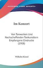 Im Konzert af Wilhelm Kienzl