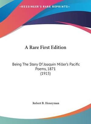 Bog, hardback A Rare First Edition af Robert B. Honeyman