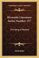 Riverside Literature Series Number 157 af Isabel Butler