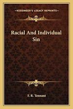 Racial and Individual Sin af F. R. Tennant