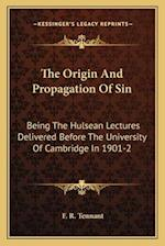 The Origin and Propagation of Sin af F. R. Tennant