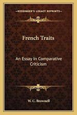 French Traits af W. C. Brownell