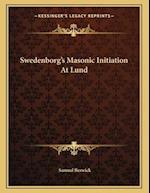 Swedenborg's Masonic Initiation at Lund af Samuel Beswick