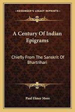 A Century of Indian Epigrams