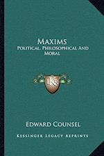 Maxims af Edward Counsel