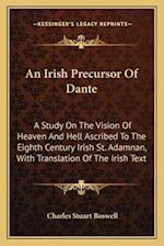 An Irish Precursor of Dante af Charles Stuart Boswell