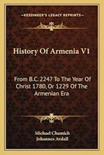 History of Armenia V1 af Michael Chamich