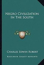 Negro Civilization in the South af Charles Edwin Robert