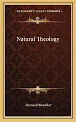 Natural Theology af Bernard Boedder