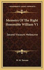 Memoirs of the Right Honorable William V1 af W. M. Torrens