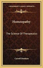 Homeopathy af Carroll Dunham