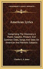 American Lyrics af Charles L. S. Jones