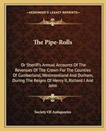 The Pipe-Rolls af Society Of Antiquaries