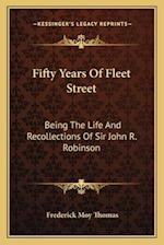 Fifty Years of Fleet Street af Frederick Moy Thomas