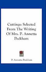 Cuttings af P. Annetta Peckham