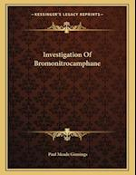 Investigation of Bromonitrocamphane af Paul Meade Ginnings