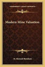 Modern Mine Valuation af M. Howard Burnham