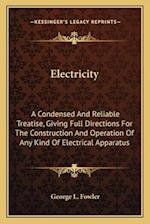 Electricity af George L. Fowler