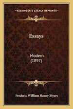 Essays af Frederic William Henry Myers