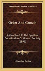 Order and Growth af J. Llewelyn Davies