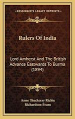 Rulers of India af Richardson Evans, Anne Thackeray Richie