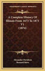 A Complete History of Illinois from 1673 to 1873 V1 (1874) af Bernard Stuve, Alexander Davidson