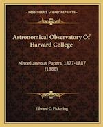 Astronomical Observatory of Harvard College