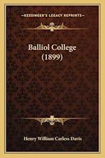 Balliol College (1899) af Henry William Carless Davis