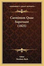 Carminum Quae Supersunt (1825) af Nicolaus Bach, Solon