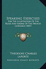 Speaking Exercises af Theodore Charles Laporte