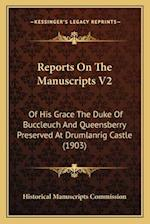 Reports on the Manuscripts V2 af Historical Manuscripts Commission
