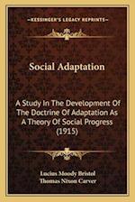 Social Adaptation af Lucius Moody Bristol