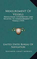 Measurement of Vessels af United States Bureau of Navigation