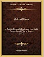 Origin of Man af James P. Simmons