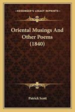 Oriental Musings and Other Poems (1840)