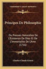 Principes de Philosophie af Charles-Claude Genest