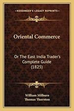 Oriental Commerce af William Milburn