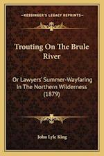 Trouting on the Brule River af John Lyle King