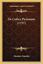 de Colica Pictonum (1757) af Theodore Tronchin