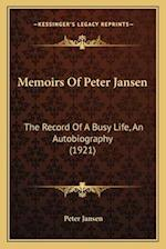 Memoirs of Peter Jansen af Peter Jansen