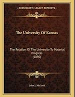 The University of Kansas af John J. McCook