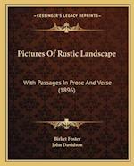 Pictures of Rustic Landscape af Birket Foster