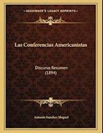 Las Conferencias Americanistas af Antonio Sanchez Moguel