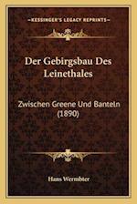 Der Gebirgsbau Des Leinethales af Hans Wermbter