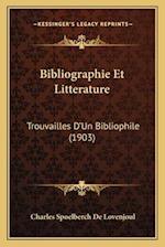 Bibliographie Et Litterature
