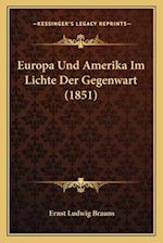 Europa Und Amerika Im Lichte Der Gegenwart (1851) af Ernst Ludwig Brauns