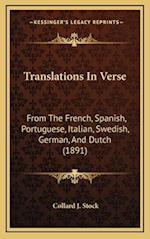 Translations in Verse af Collard J. Stock