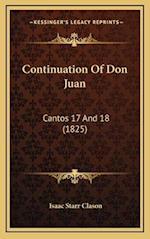 Continuation of Don Juan af Isaac Starr Clason